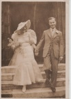 Wedding of Arthur Brown & Olive Walter 1935