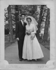Wedding of Janis L Brown &Norman Whalley