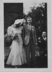 Wedding of Arthur Brown &  Olive Walter - 2, 1935